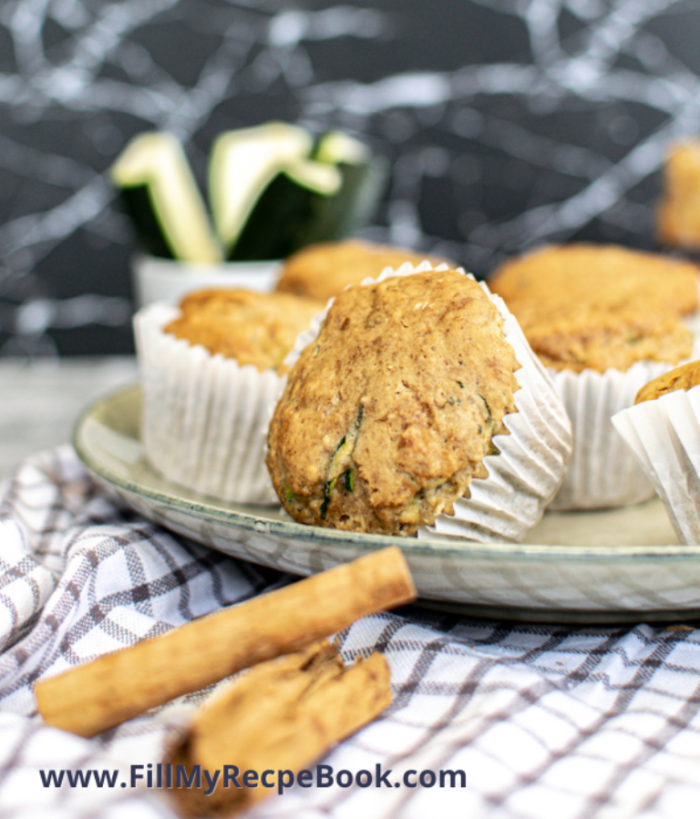 baked muffins on a plate to serve