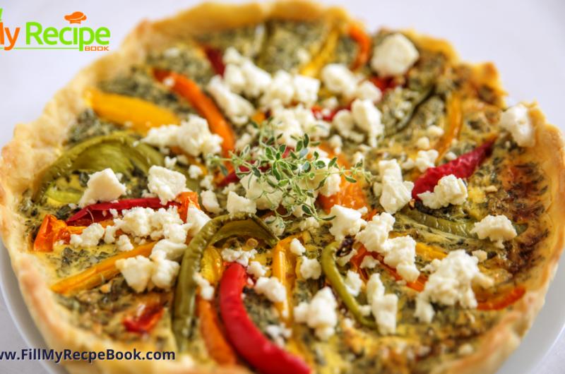 Quick Versatile Fajita Veggie Quiche