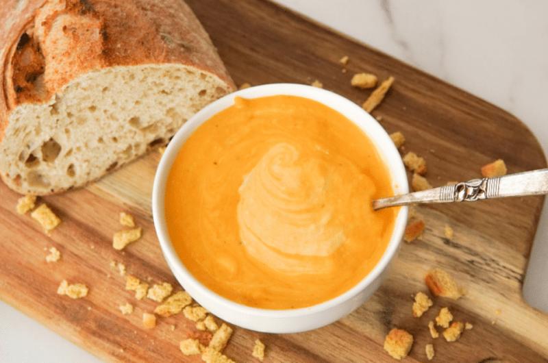 Roasted Butternut Creamy Soup