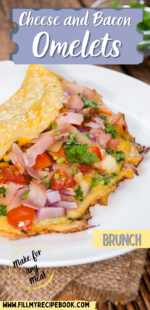 Cheese and Bacon Omelets
