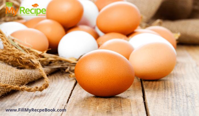 eggs for the omelet