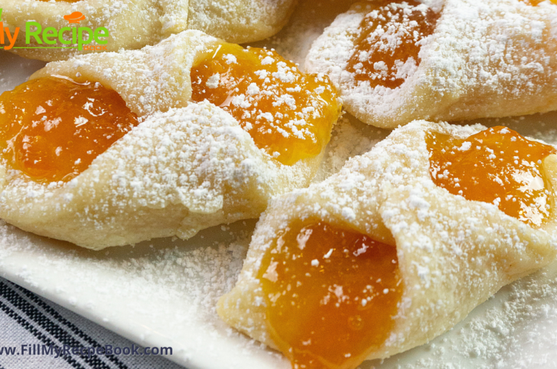 Polish Kolaczki Cookies