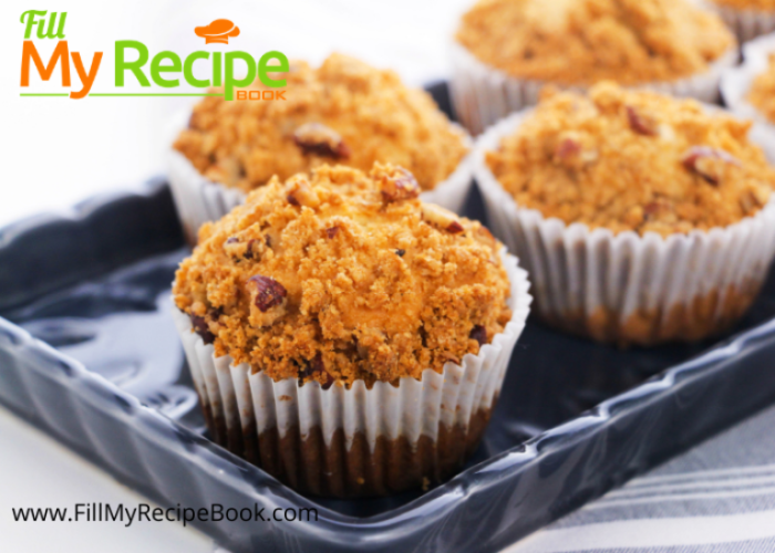 pecan crumbed muffins