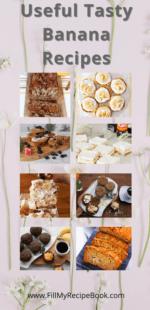 Useful Tasty Banana Recipes