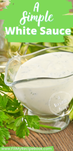A Simple White Sauce