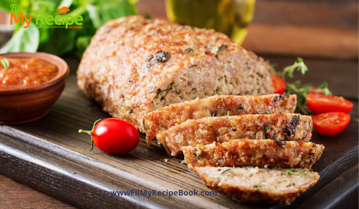 Easy Turkey Loaf from Leftovers make 1 of the 10 tasty bread filled recipes