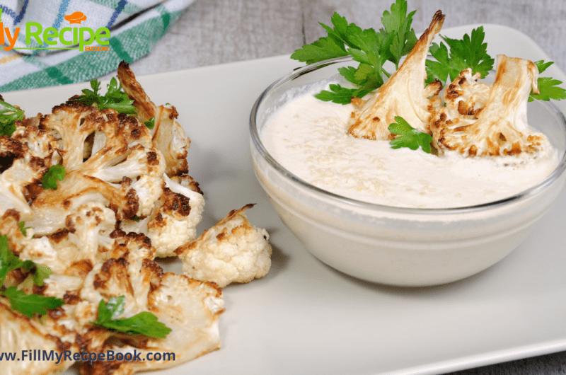 Oven Roasted Cauliflower Florets