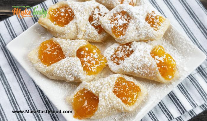 Polish Kolaczki Jam Cookies
