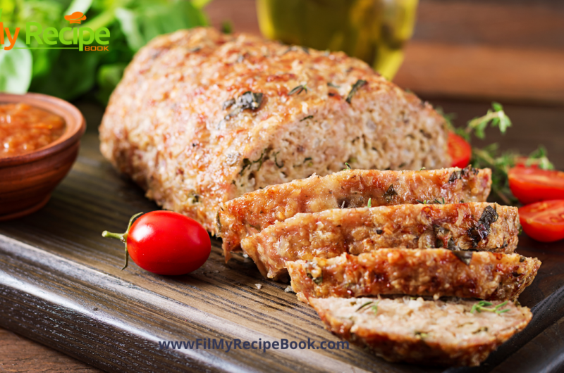 Easy Turkey Loaf from Leftovers