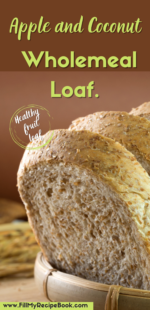 Apple and Coconut Wholemeal Loaf