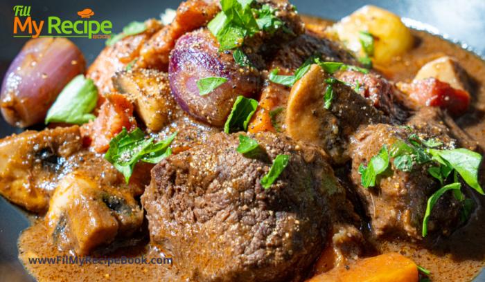 a one pot beef stroganoff recipe