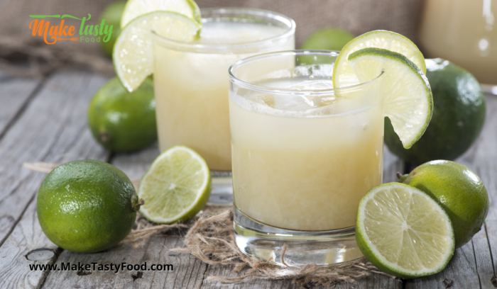 Simple Healthy Lime Juice with Honey